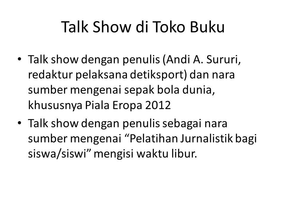 Talk Show di Toko Buku