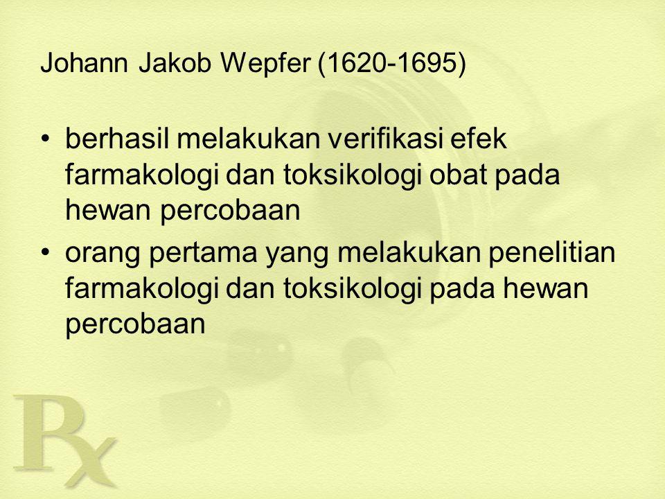 Johann Jakob Wepfer (1620-1695)