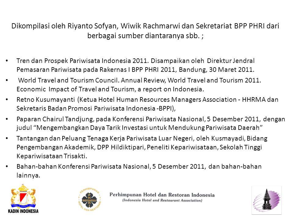 Dikompilasi oleh Riyanto Sofyan, Wiwik Rachmarwi dan Sekretariat BPP PHRI dari berbagai sumber diantaranya sbb. ;