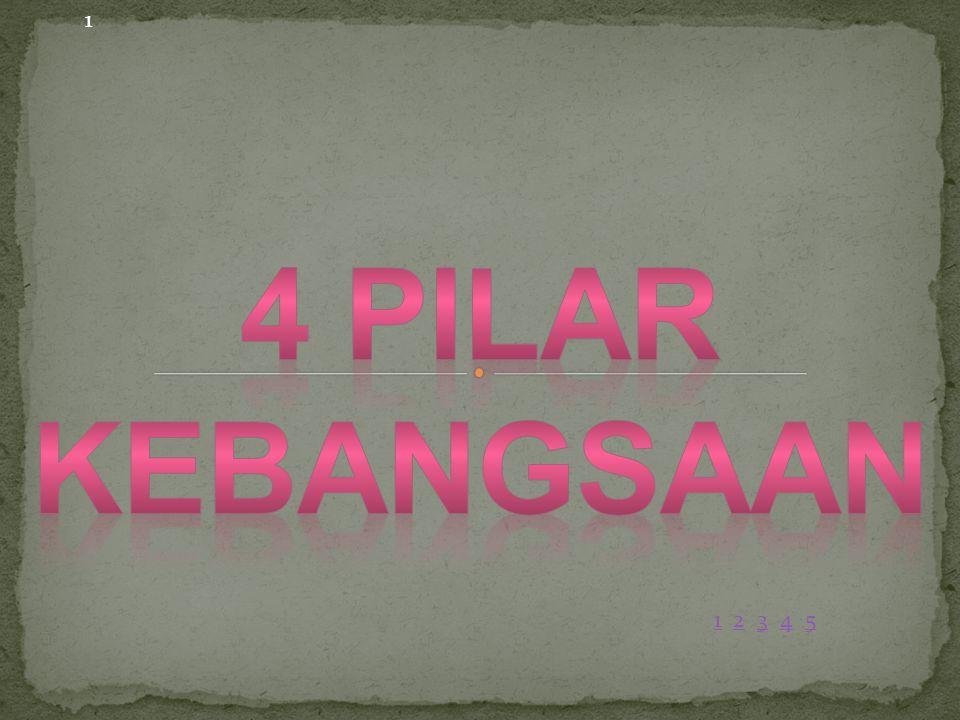 1 4 PILAR KEBANGSAAN 1 2 3 4 5