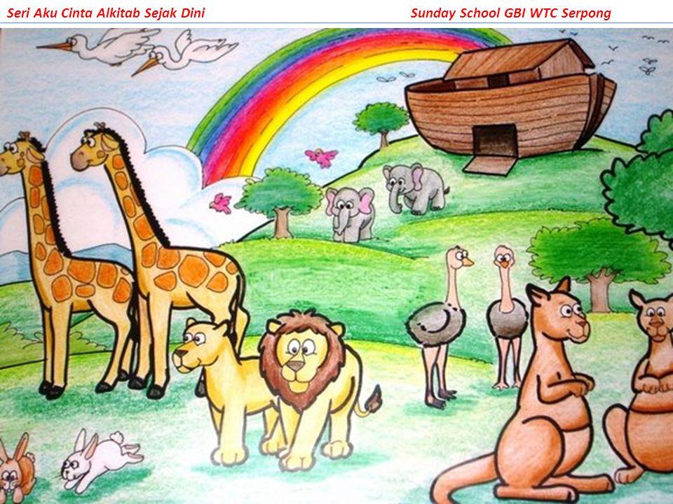 Dan setelah satu tahun lebih Nuh dan keluarga serta para binatang berada dalam bahtera, akhirnya mereka keluar menikmati bumi yang baru…yang kosong…hanya mereka penghuni bumi saat itu.