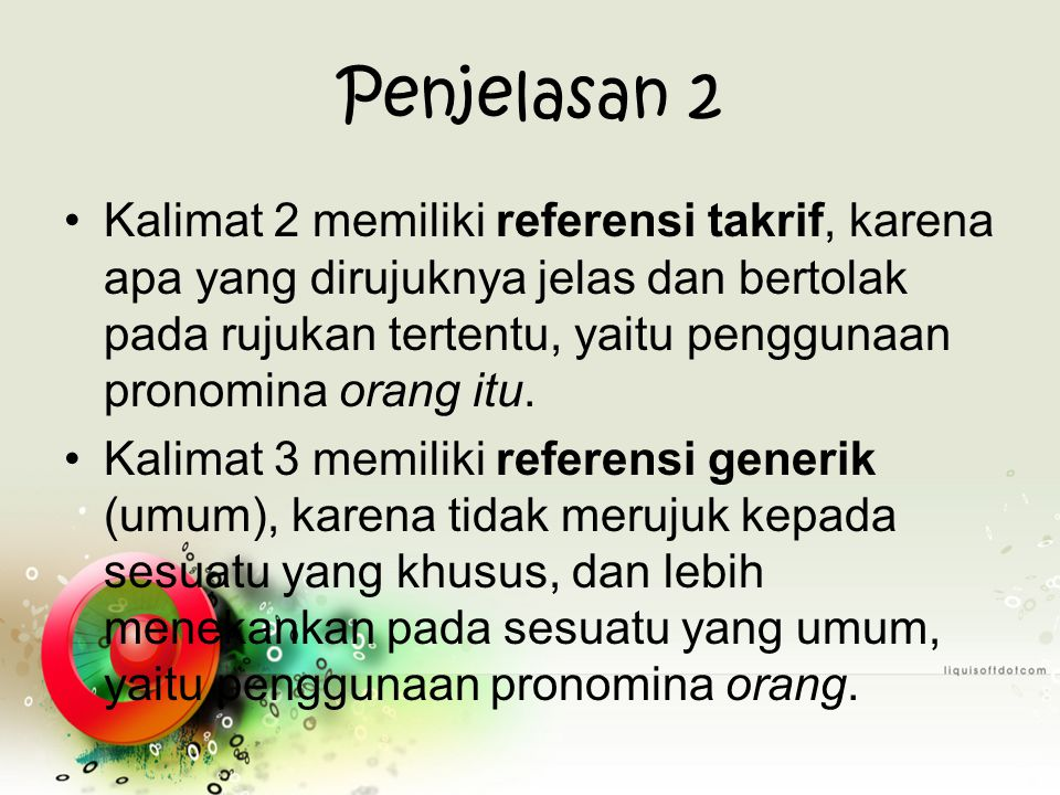 Penjelasan 2