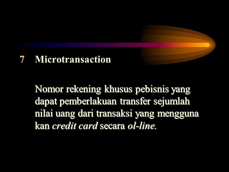 Microtransaction