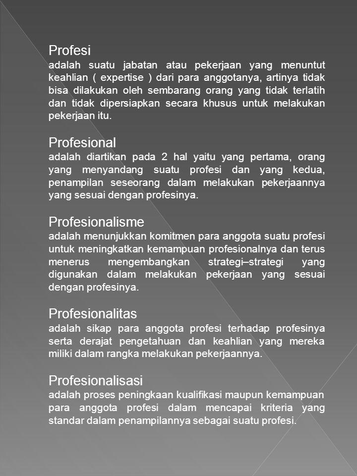 Profesi
