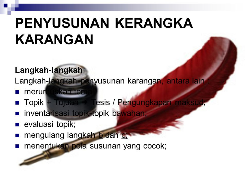 Teknik Penulisan Ilmiah - ppt download