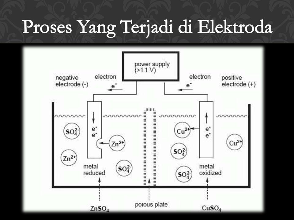 Proses Yang Terjadi di Elektroda