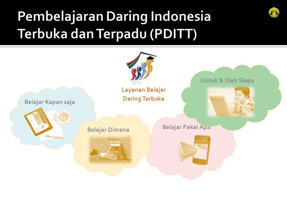 Pembelajaran Daring Indonesia Terbuka dan Terpadu (PDITT)