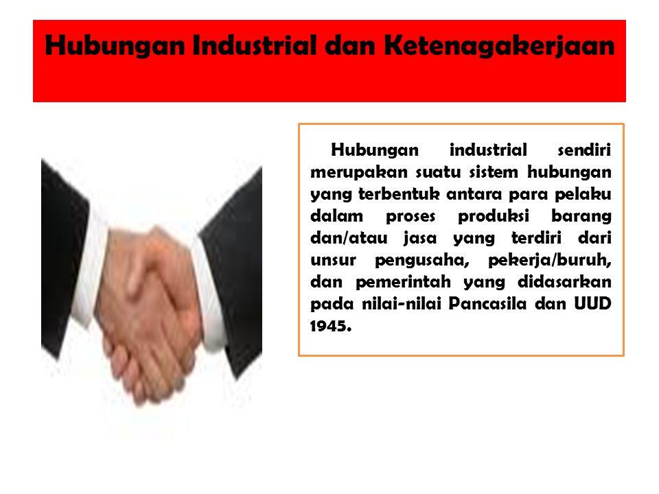 Hubungan Industrial dan Ketenagakerjaan