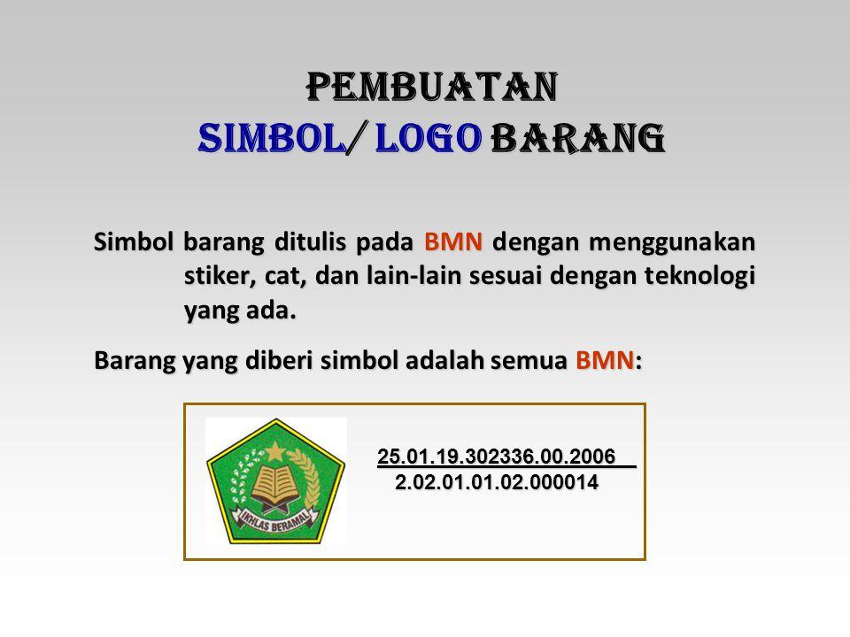 PEMBUATAN SIMBOL/ LOGO BARANG
