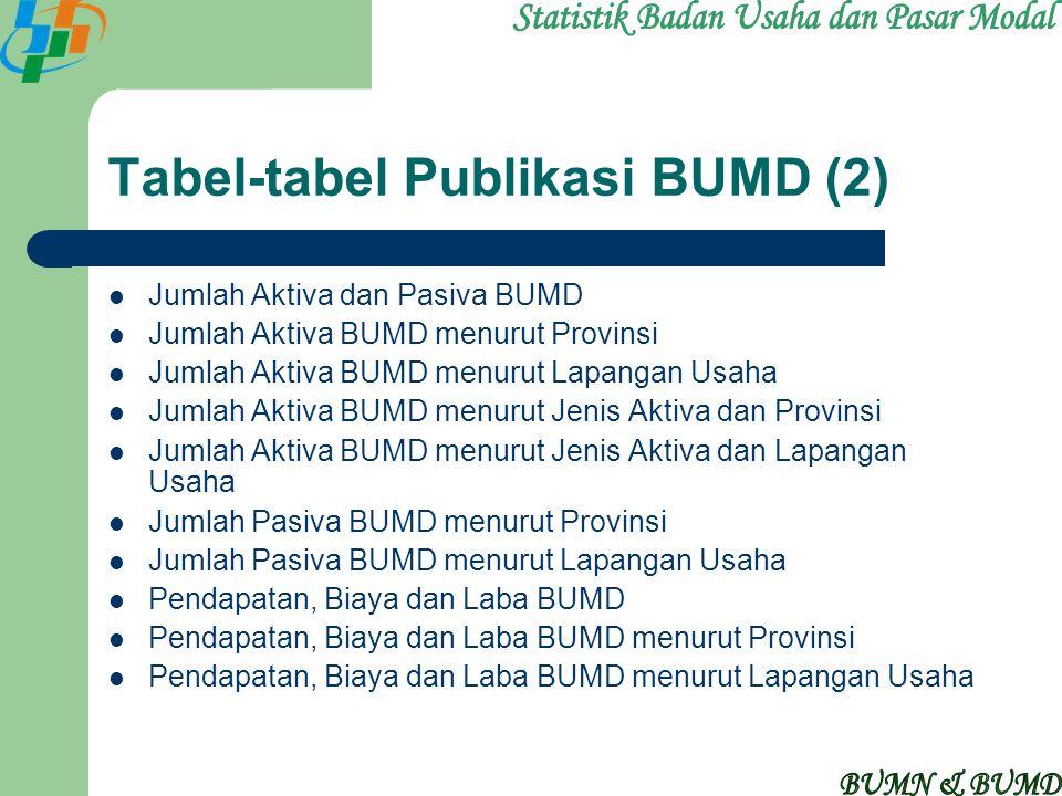Tabel-tabel Publikasi BUMD (2)