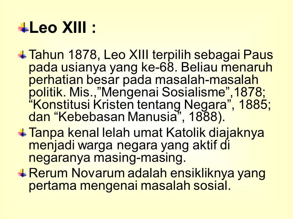 Leo XIII :