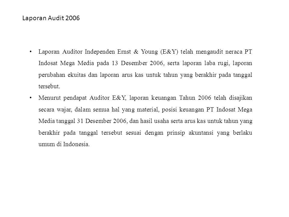 Laporan Audit 2006