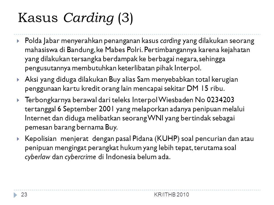 Kasus Carding (3)