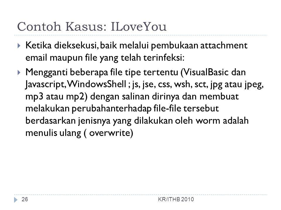 Contoh Kasus: ILoveYou