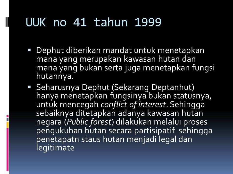 UUK no 41 tahun 1999