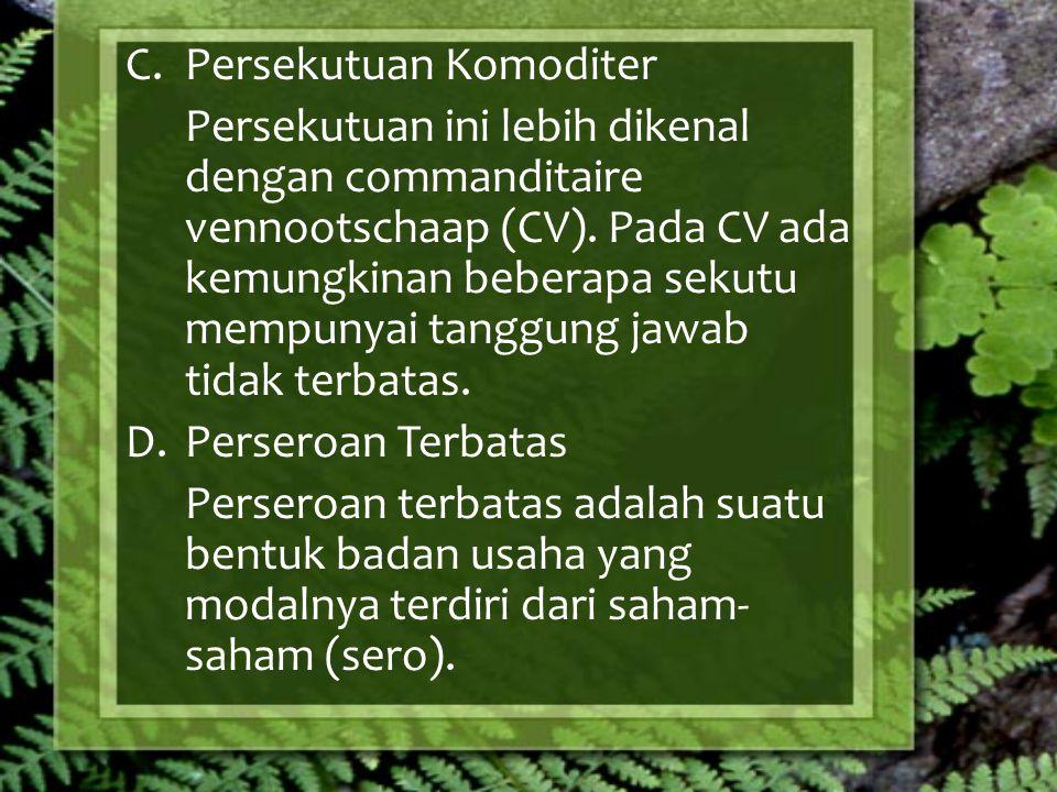 Persekutuan Komoditer