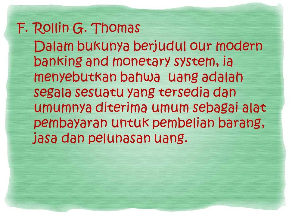 Rollin G. Thomas