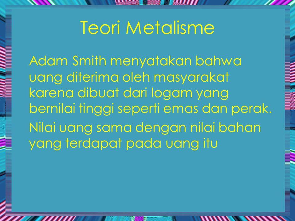 Teori Metalisme