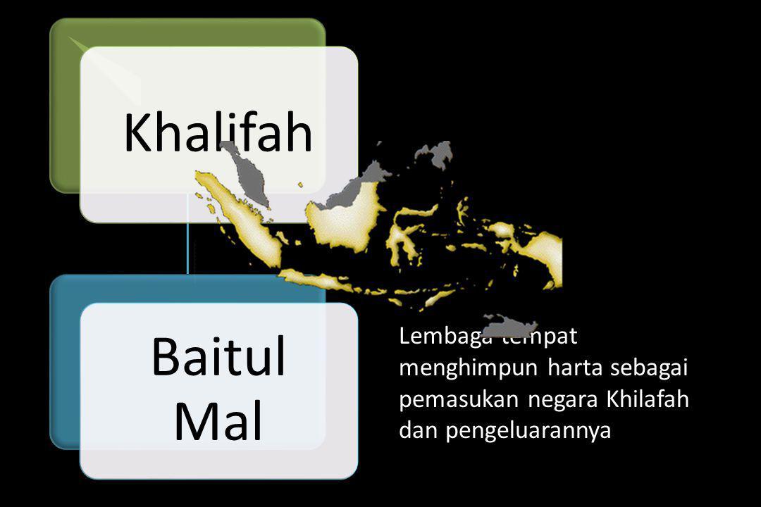 Khalifah Baitul Mal.