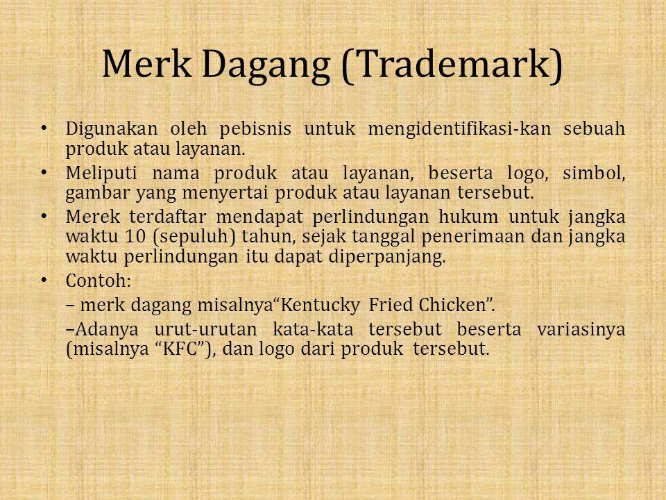 Merk Dagang (Trademark)