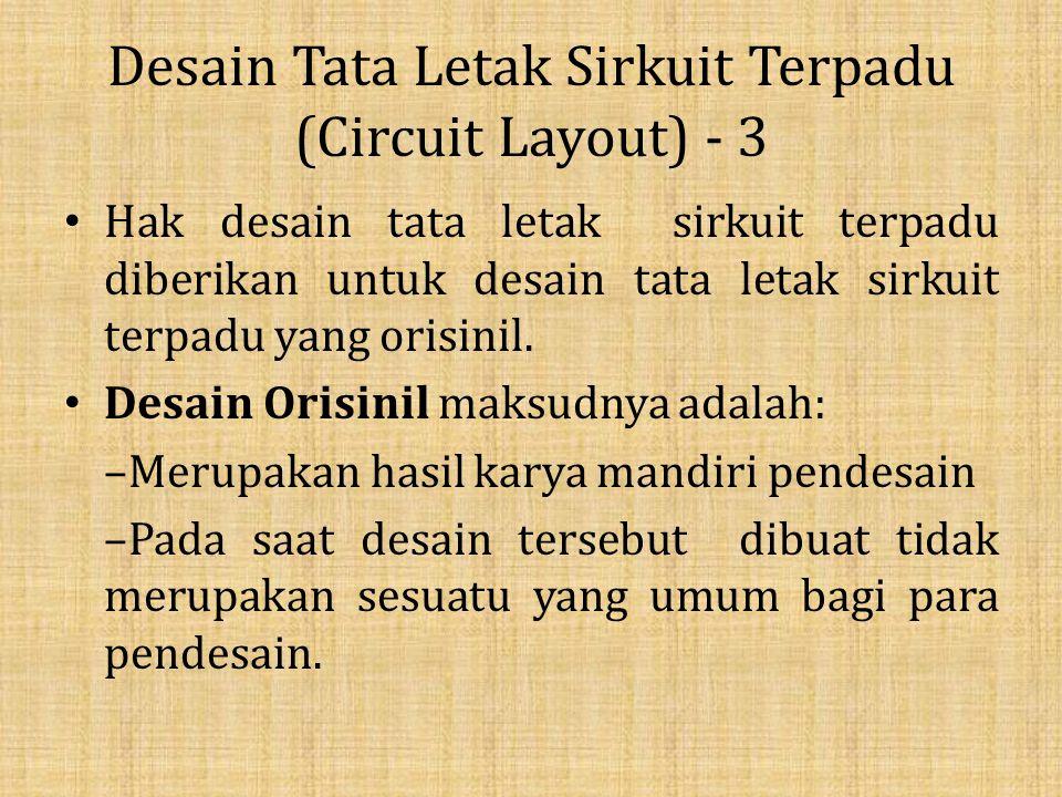 Desain Tata Letak Sirkuit Terpadu (Circuit Layout) - 3
