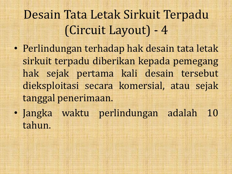 Desain Tata Letak Sirkuit Terpadu (Circuit Layout) - 4