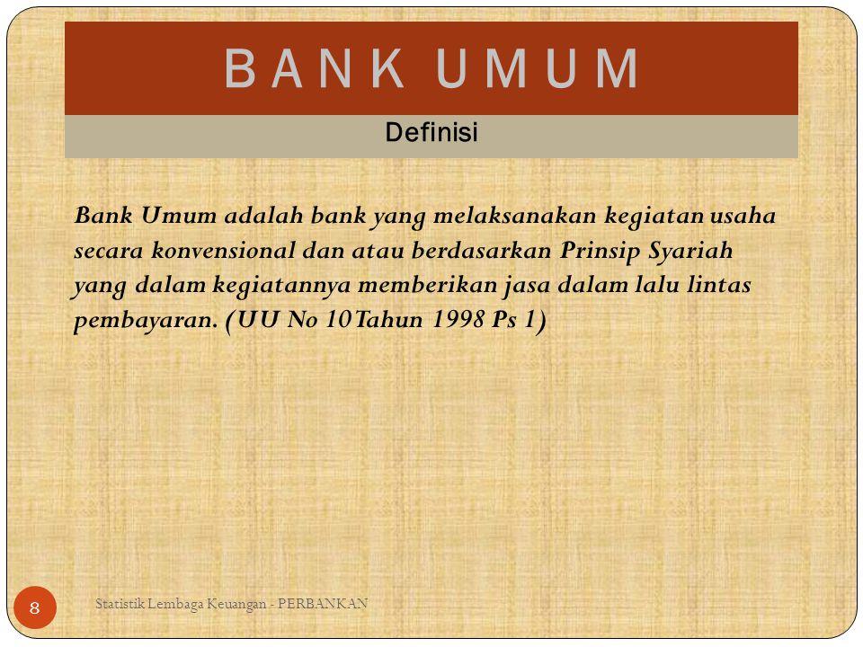 B A N K U M U M Definisi.