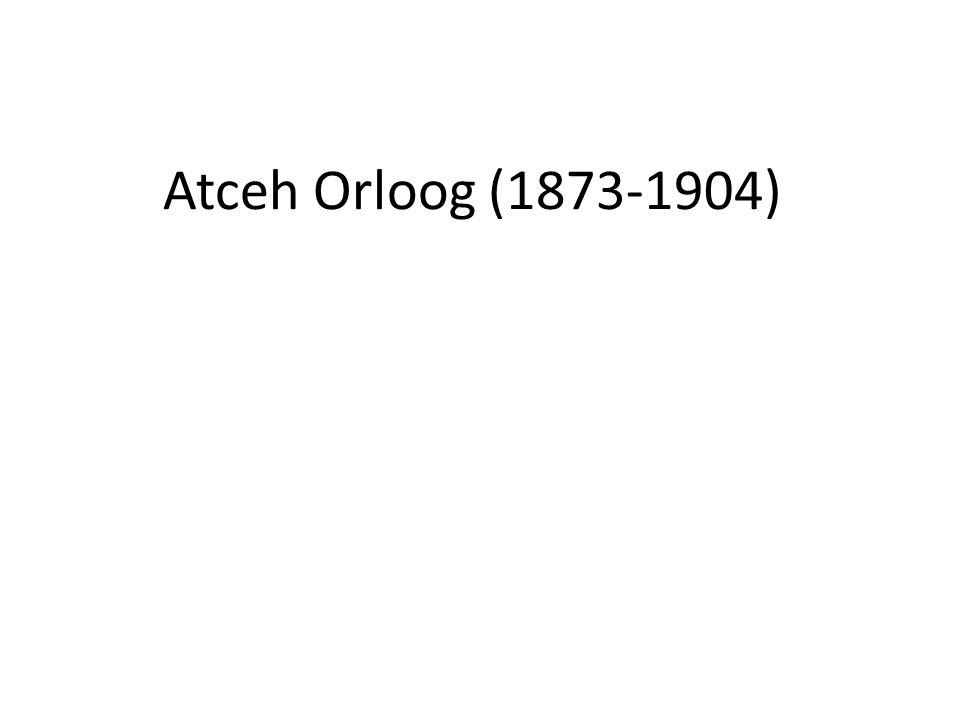 Atceh Orloog (1873-1904)