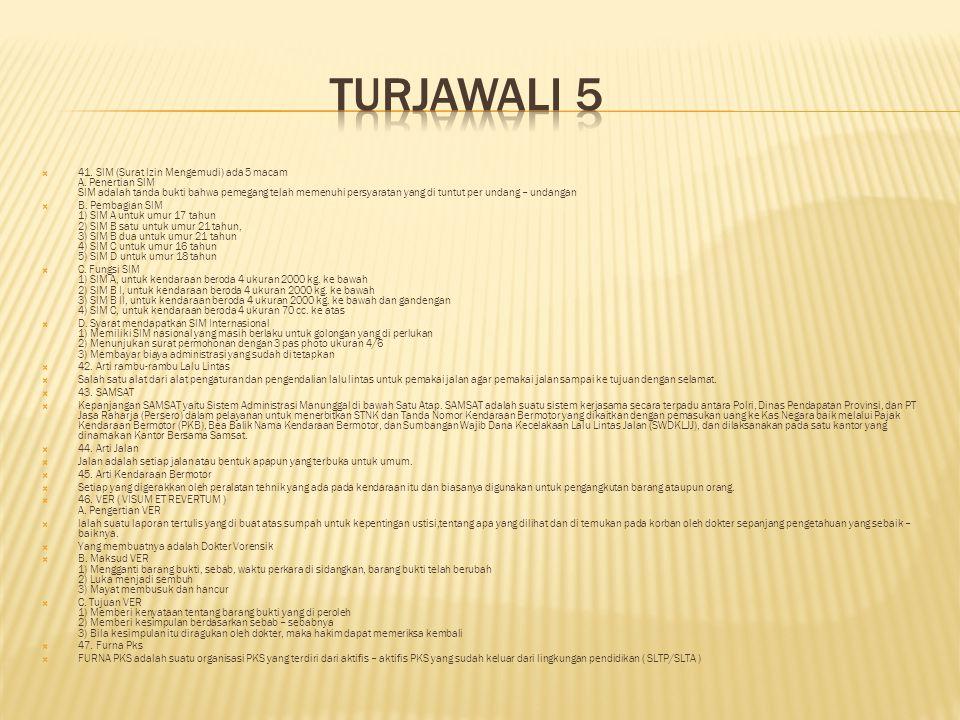TURJAWALI 5