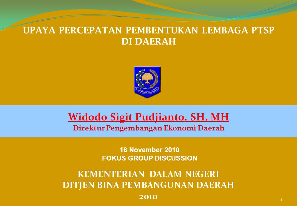 Widodo Sigit Pudjianto, SH, MH