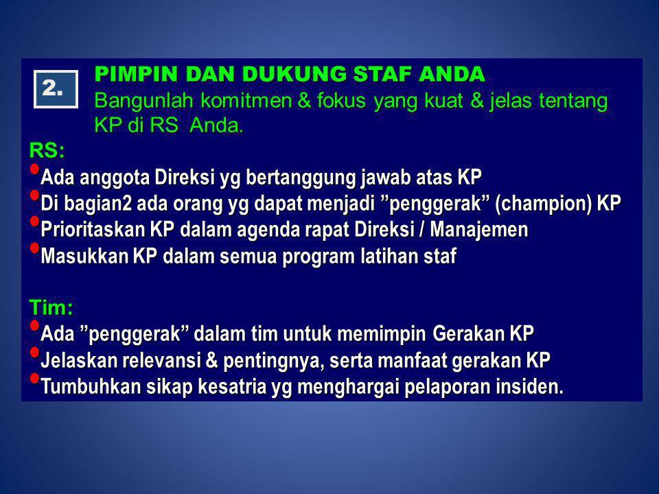 Ada anggota Direksi yg bertanggung jawab atas KP