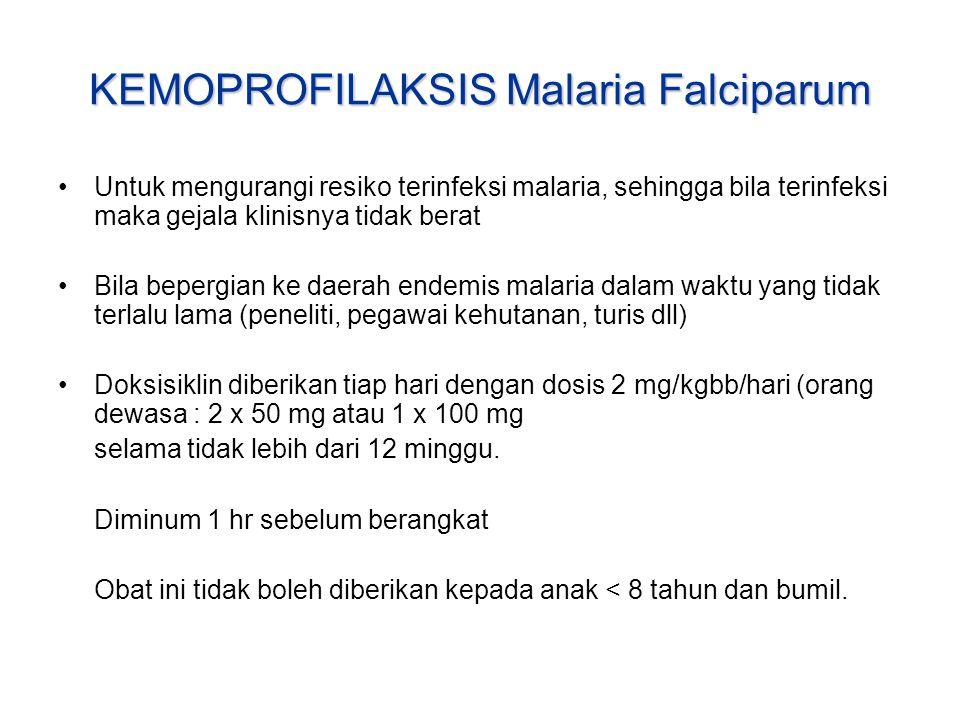 KEMOPROFILAKSIS Malaria Falciparum