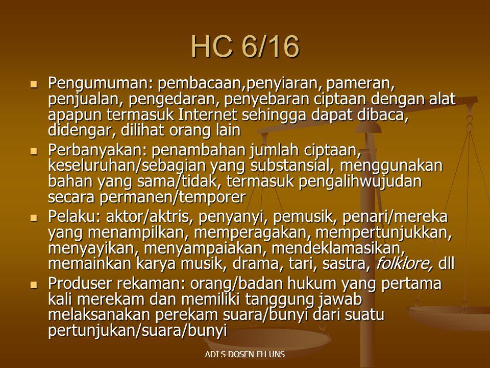 HC 6/16