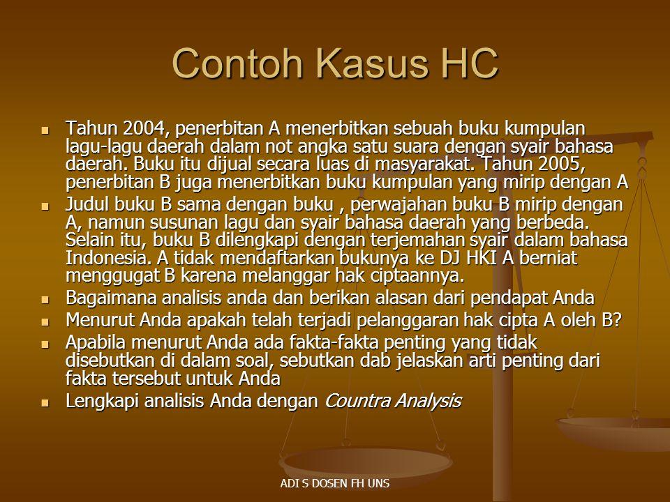 Contoh Kasus HC