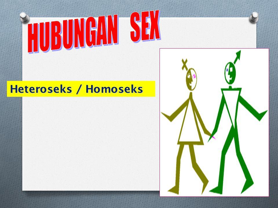 HUBUNGAN SEX Heteroseks / Homoseks