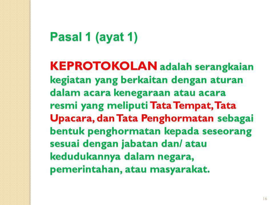 Pasal 1 (ayat 1)