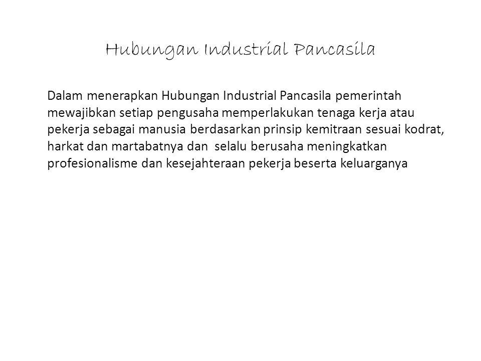 Hubungan Industrial Pancasila