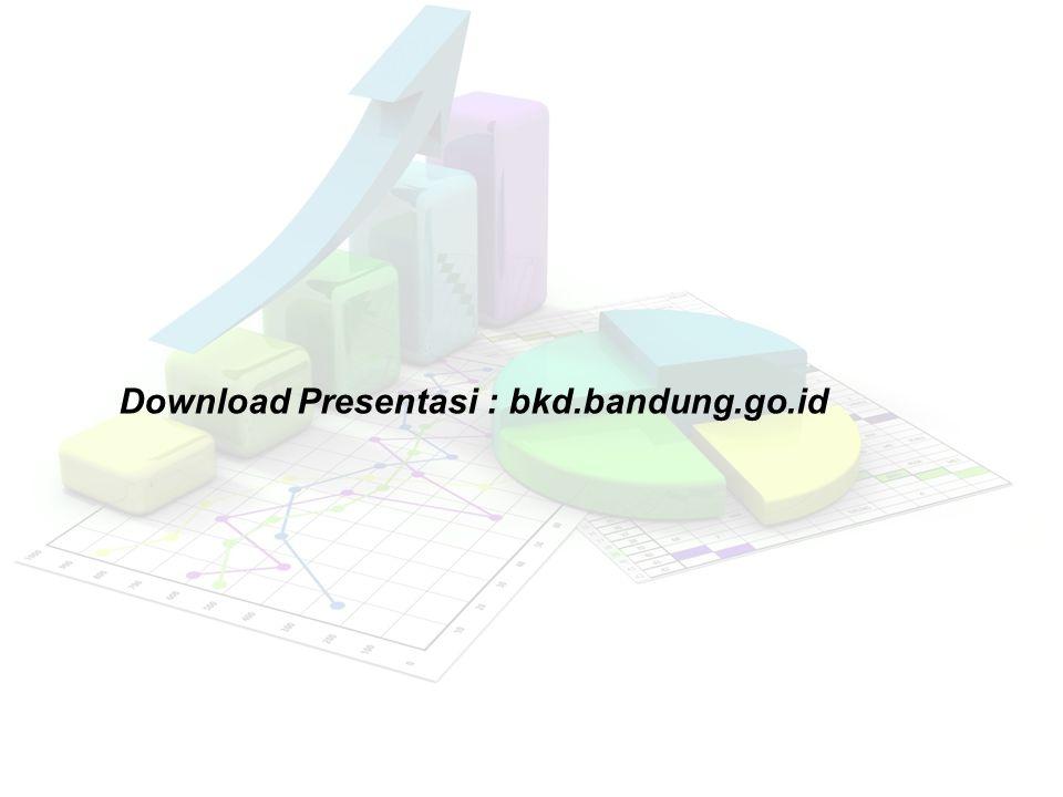 Download Presentasi : bkd.bandung.go.id