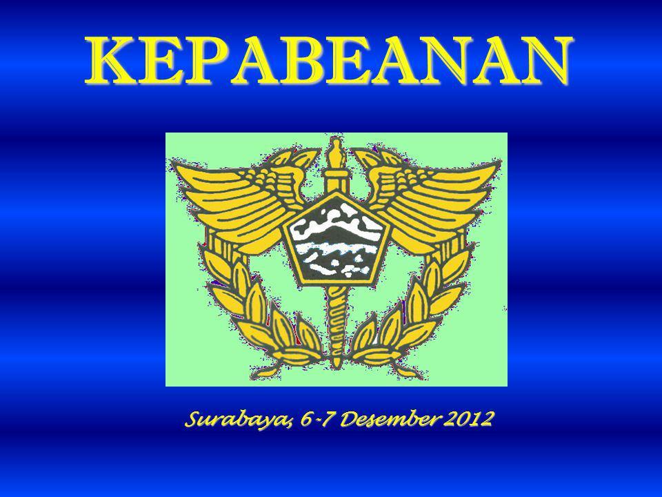 KEPABEANAN Surabaya, 6-7 Desember 2012