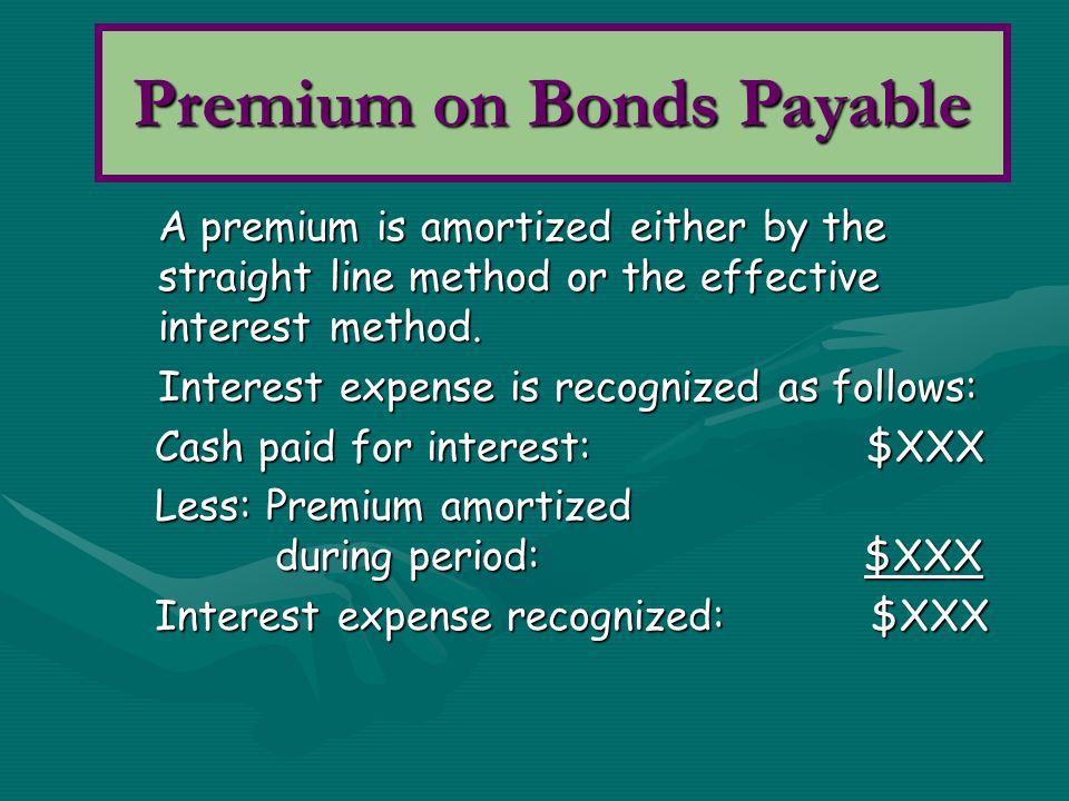 Premium on Bonds Payable