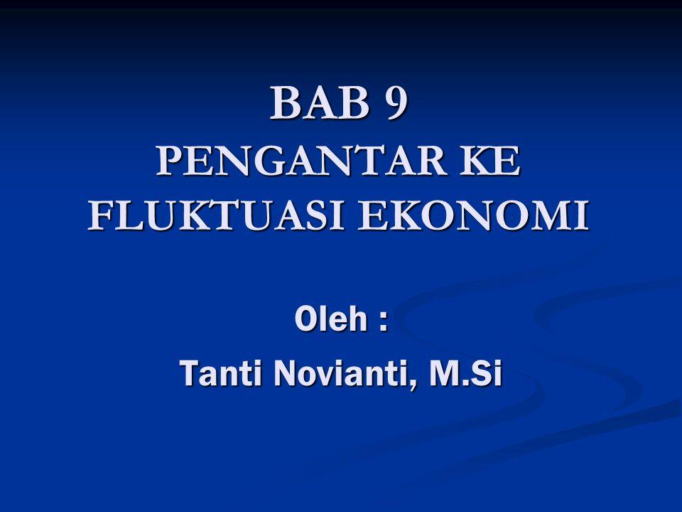 BAB 9 PENGANTAR KE FLUKTUASI EKONOMI