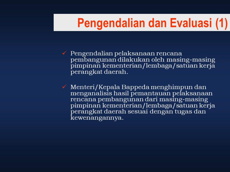 Pengendalian dan Evaluasi (1)