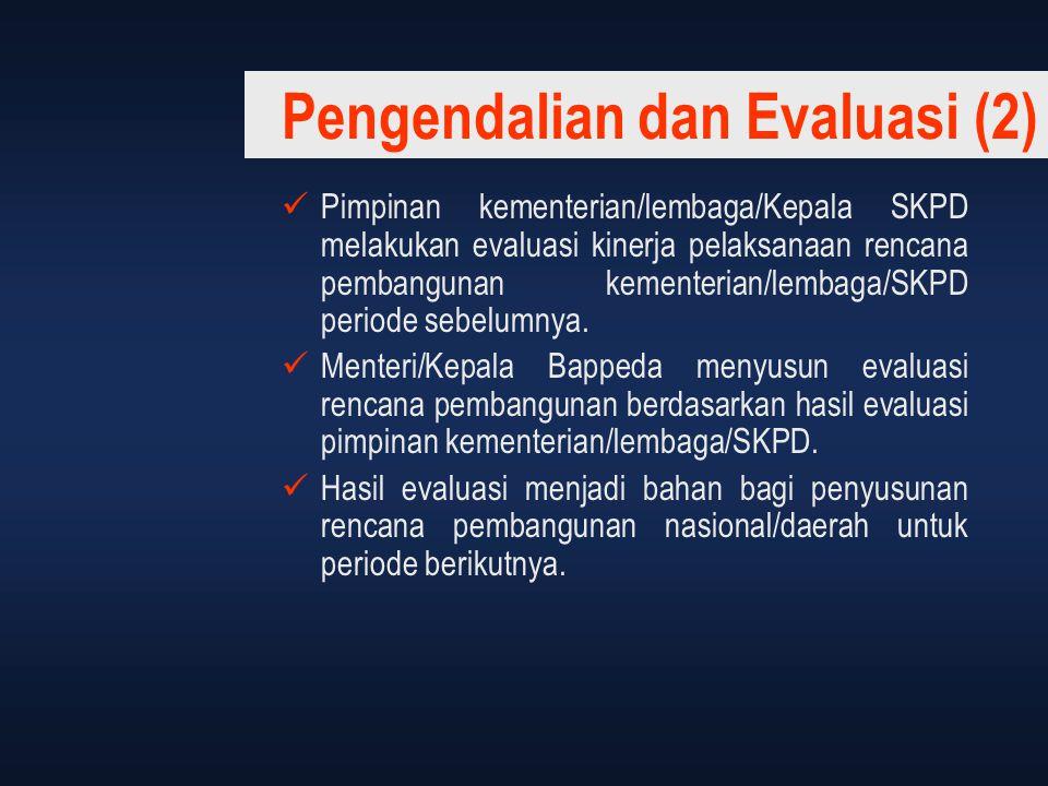 Pengendalian dan Evaluasi (2)