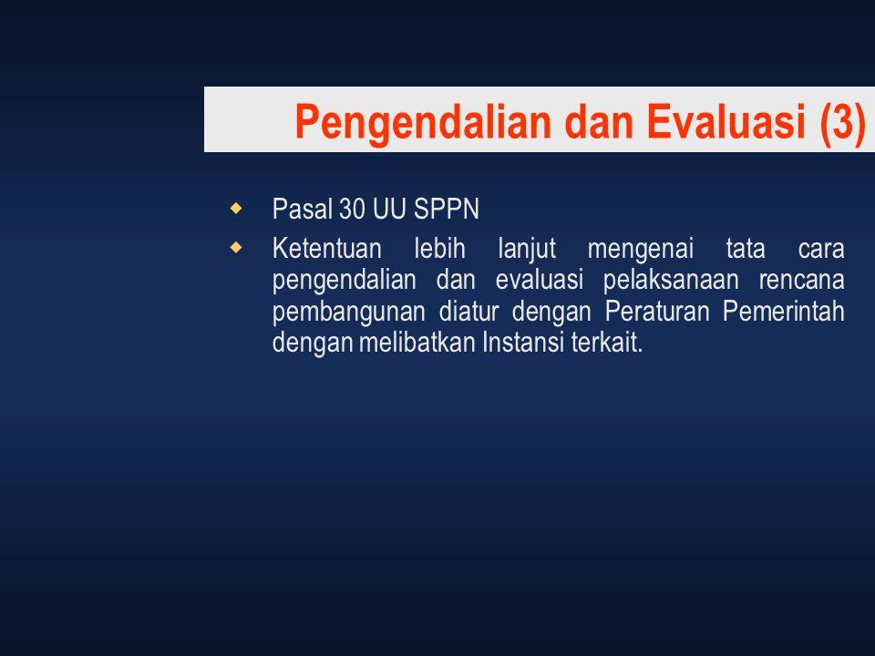 Pengendalian dan Evaluasi (3)