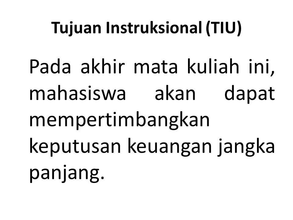 Tujuan Instruksional (TIU)