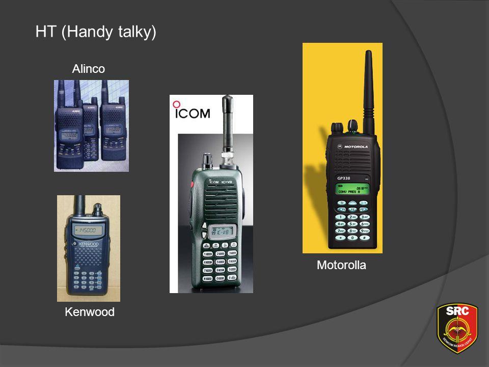 Diklat Senkom Pusat HT (Handy talky) Alinco Motorolla Kenwood