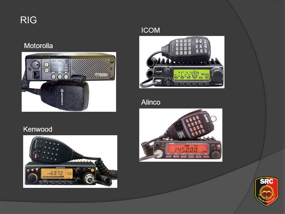 Diklat Senkom Pusat RIG ICOM Motorolla Alinco Kenwood