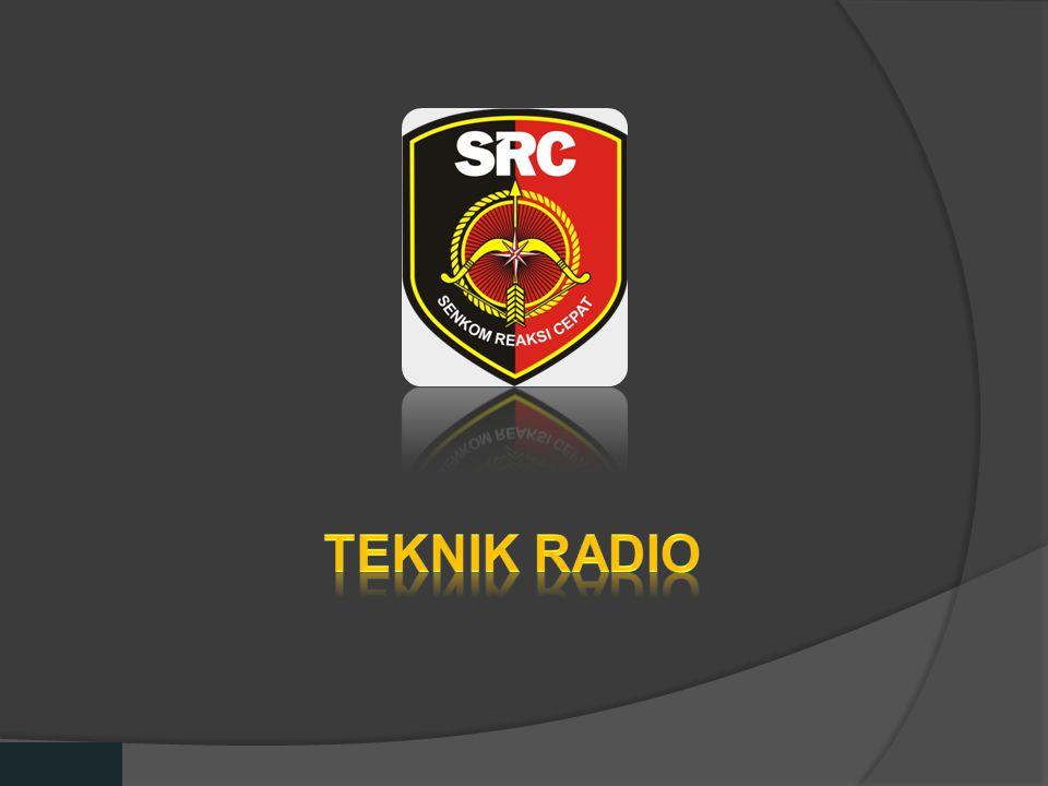 Diklat Senkom Pusat Teknik radio