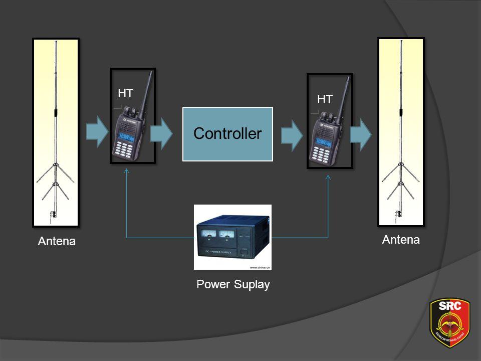 Diklat Senkom Pusat HT HT Controller Antena Antena Power Suplay
