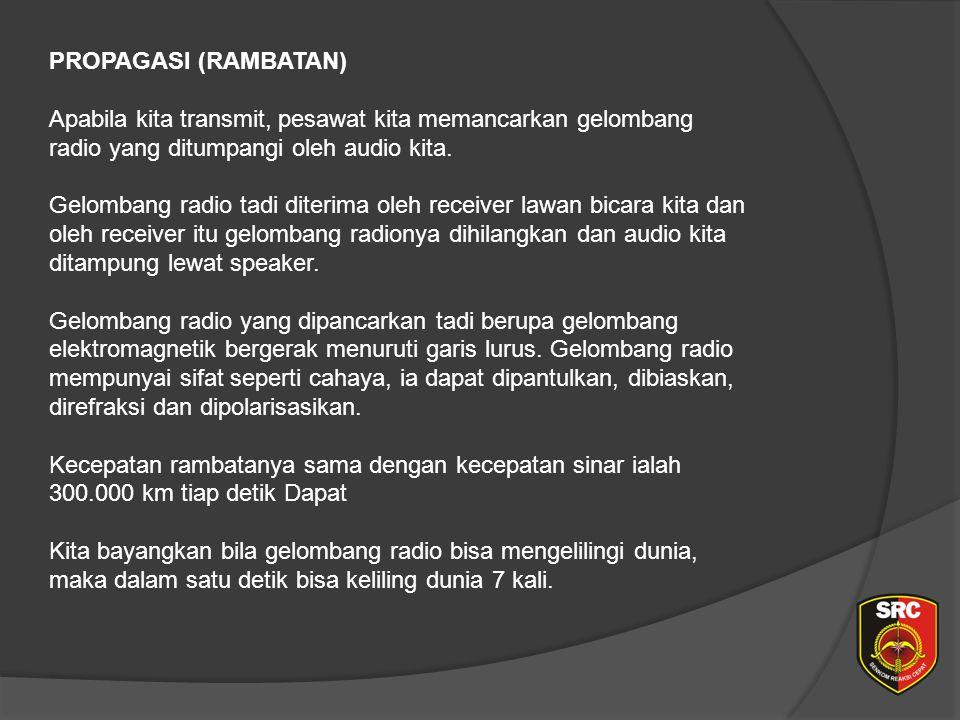 Diklat Senkom Pusat PROPAGASI (RAMBATAN)